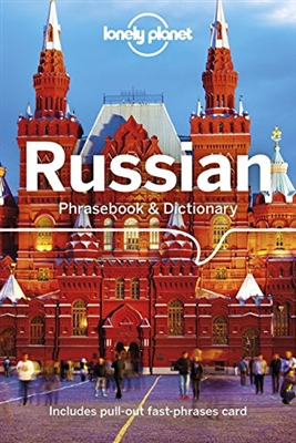 Russian Phrasebook and Dictionary by Lonely Planet. Admirers of Russian literature claim that the Slavic soul of writers such as Chekhov or Tolstoy can not be fully appreciated in translation. For the less ambitious, the language will bring you closer