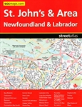 St John's & Area - Newfoundland & Labrador road atlas. Includes the communities of Bay Roberts, Carbonear, Channel-Port aux Basques, Clarenville, Conception Bay South, Corner Brook, Deer Lake, Gander, Goulds, Grand Falls-Windsor, Happy Valley-Goose Bay, L