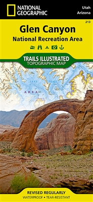 213 Glen Canyon National Recreation Area National Geographic Trails Illustrated
