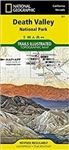 221 - Death Valley National Park Trails Illustrated waterproof travel map. Despite its foreboding name and the fact that it is the hottest, lowest, and driest area in North America, Death Valley National Park maintains a great diversity of life in its dra