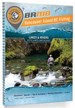 Vancouver Island BC Fishing map book. Covers the areas of Campbell River, Comox, Courtenay, Duncan, Gold River, Nanaimo, Parksville, Port Alberni, Port Hardy, Port Renfrew, Tofino and Victoria. The lake depth charts and river maps will help you read a lak
