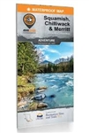 Squamish, Chilliwack & Merritt SW BC recreation map. Consisting of the southwest corner of British Columbia, the Squamish, Chilliwack and Merritt area boasts some of the greatest outdoor adventure opportunities in the world. From skiing and snowboarding i