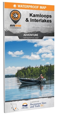 Kamloops & Interlakes BC adventure map. Deep in the heart of BCs interior, the city of Kamloops and the surrounding Interlakes region abound with natural beauty and unlimited outdoor recreation opportunities. Located in the southeast region of the area c