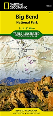 225 Big Bend National Park National Geographic Trails Illustrated