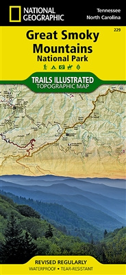 229 Great Smoky Mountains National Park National Geographic Trails Illustrated