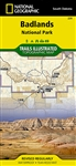 239 Badlands National Park National Geographic Trails Illustrated