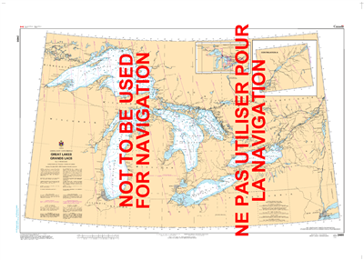 2400 - Great Lakes - Canadian Hydrographic Service (CHS)'s exceptional nautical charts and navigational products help ensure the safe navigation of Canada's waterways. These charts are the 'road maps' that guide mariners safely from port to port. With inc