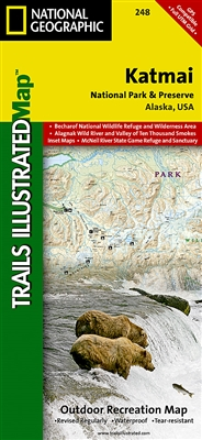 248 Katmai National Park and Preserve National Geographic Trails Illustrated