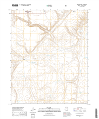 Additional Hill Arizona - 24k Topo Map