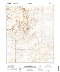Agate House Arizona - 24k Topo Map