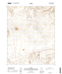 Agathla Peak Arizona - 24k Topo Map
