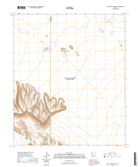 Aguila Mountains NE Arizona - 24k Topo Map