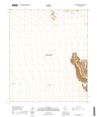 Aguila Mountains NW Arizona - 24k Topo Map