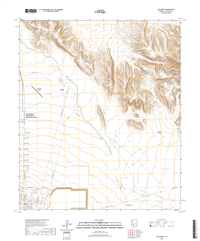 Ajo North Arizona - 24k Topo Map