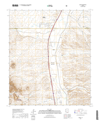 Amado Arizona - 24k Topo Map