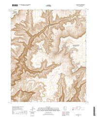 Amos Point Arizona - 24k Topo Map