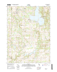 Addison Michigan - 24k Topo Map