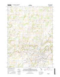 Adrian Michigan - 24k Topo Map