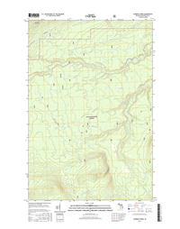Aldridge Creek Michigan - 24k Topo Map