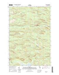 Alfred Michigan - 24k Topo Map