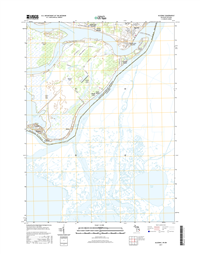 Algonac Michigan - 24k Topo Map