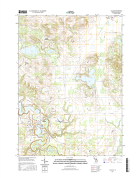 Allegan Michigan - 24k Topo Map
