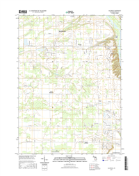 Allendale Michigan - 24k Topo Map