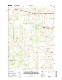Allenton Michigan - 24k Topo Map