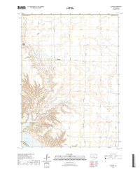 Academy South Dakota  - 24k Topo Map