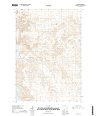 Akaska SW South Dakota  - 24k Topo Map