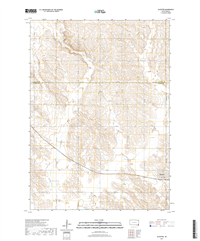 Alcester South Dakota  - 24k Topo Map