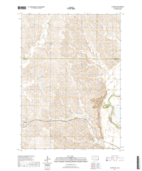 Alcester SE South Dakota - Iowa - 24k Topo Map
