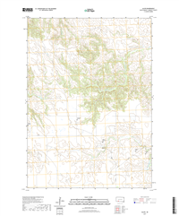 Allen South Dakota  - 24k Topo Map