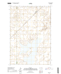 Amherst South Dakota  - 24k Topo Map