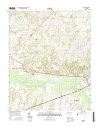 Adair Tennessee  - 24k Topo Map