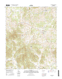 Alexandria Tennessee  - 24k Topo Map