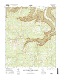 Altamont Tennessee  - 24k Topo Map