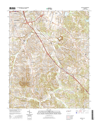 Antioch Tennessee  - 24k Topo Map