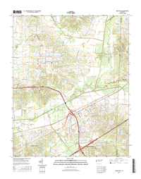 Arlington Tennessee  - 24k Topo Map