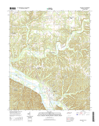 Ashland City Tennessee  - 24k Topo Map