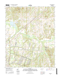 Atwood Tennessee  - 24k Topo Map