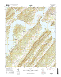 Bacon Gap Tennessee  - 24k Topo Map
