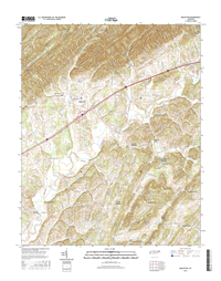 Baileyton Tennessee  - 24k Topo Map