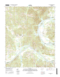 Bath Springs Tennessee  - 24k Topo Map