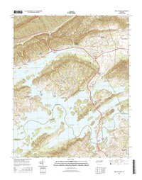 Bean Station Tennessee  - 24k Topo Map
