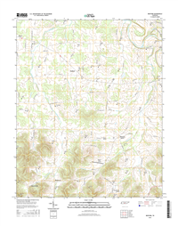 Bedford Tennessee  - 24k Topo Map