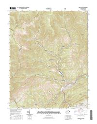 Appalachia Virginia - Kentucky - 24k Topo Map