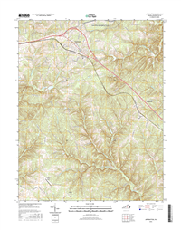 Appomattox Virginia  - 24k Topo Map