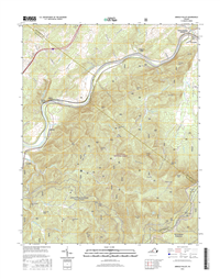 Arnold Valley Virginia  - 24k Topo Map