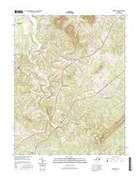Arrington Virginia  - 24k Topo Map